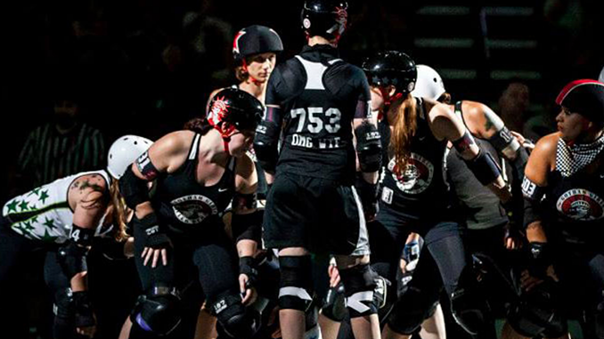 Roller Derby Skates to HD with Blackmagic, Wirecast Streaming and ProRes Recording