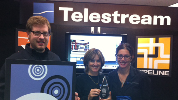 Telestream Wirecast Wins Best Webcasting/Presentation Solution at Streaming Media West!