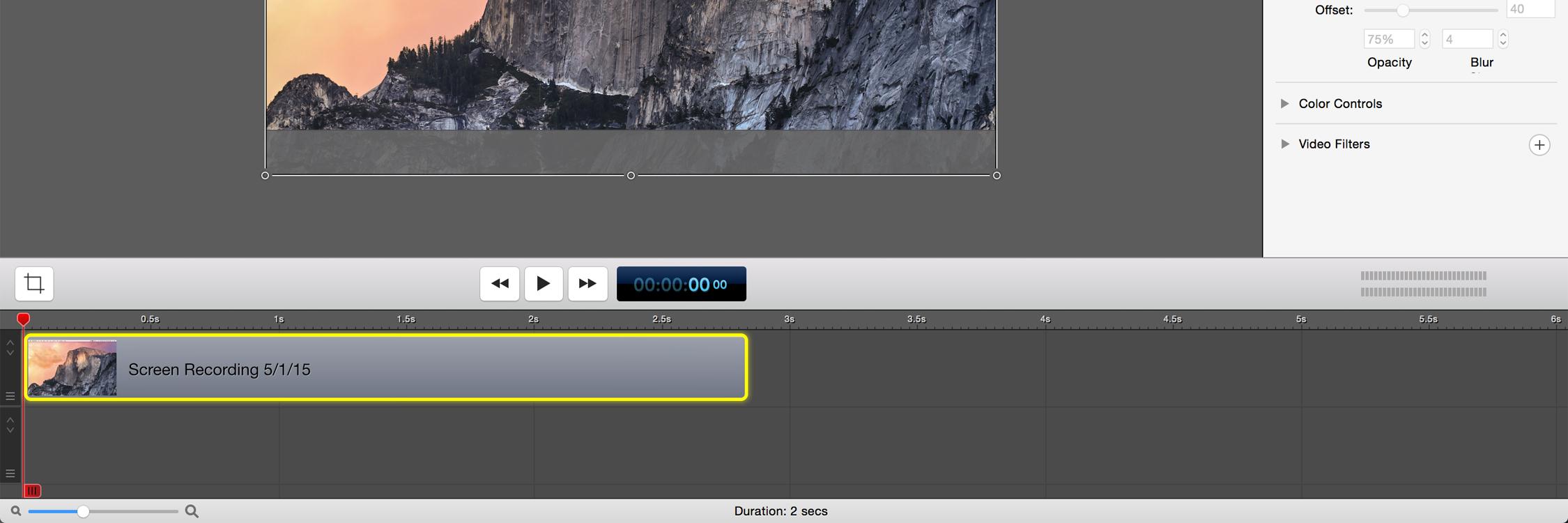 MacBook Recording with ScreenFlow