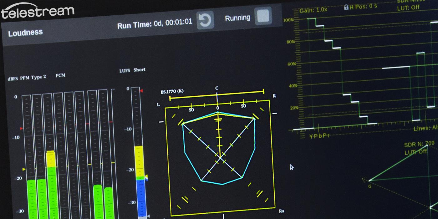 Surround Sound Audio Diagnostics with the PRISM Waveform Monitor Platform